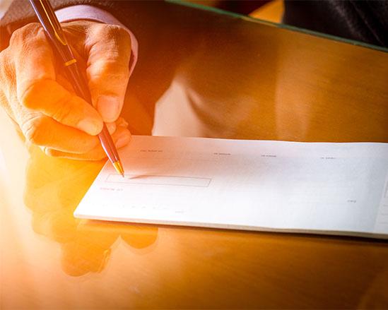Fabrication clef en main de carnets de chèques avec Numen chèques